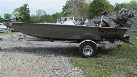 used 18 foot jon boats for sale used 2015 xpress boats hd drop deck jon boat series