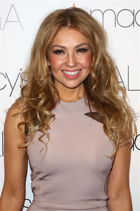 Thalia Hairstyle by Thalia Curls Thalia Looks Stylebistro