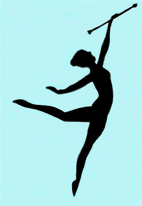 Gallery Twirling Baton Clipart