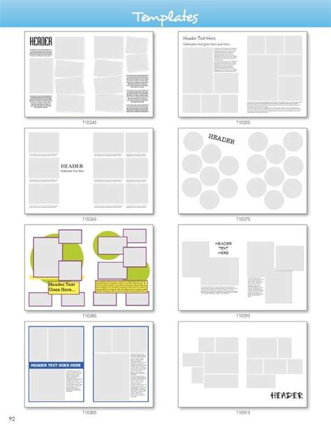 Yearbook Layout Programs | templates pictavo art guide pinterest yearbooks
