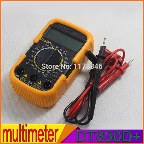 Multitester Digital Masda Dt830d Murah Jakarta popular small digital multimeter buy cheap small digital