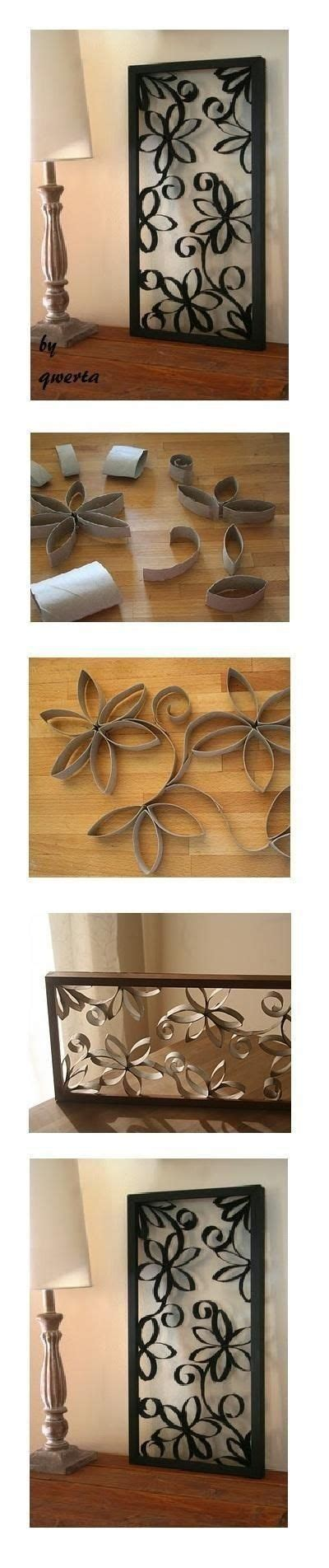 diy toilet paper roll wall decoration toilets larger
