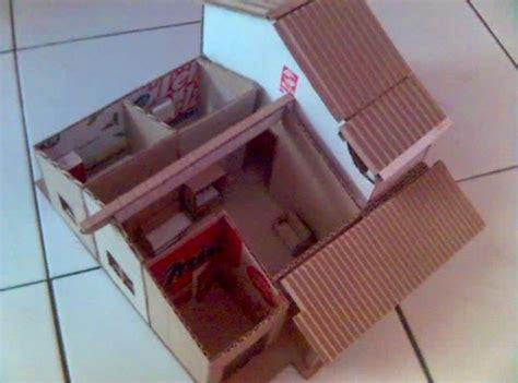 membuat rumah plastik cara membuat miniatur rumah dari kardus sisa