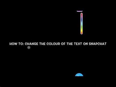how to change color on snapchat how to change the colour of the text on snapchat