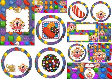 Candy Crush Gift Card - candy crush party free printable candy bar labels oh my fiesta for geeks