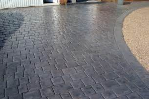 ultimate driveways pattern imprinted concrete