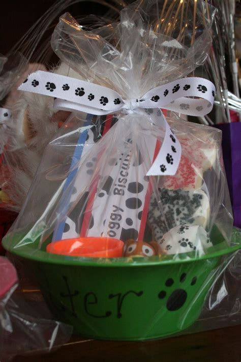 Gy Bowl Goobag For A Puppy  Ee  Birthday Ee    Ee  Party Ee   Filled
