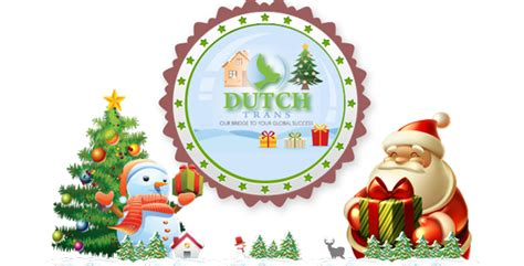 merry christmas  happy  year  dutchtrans