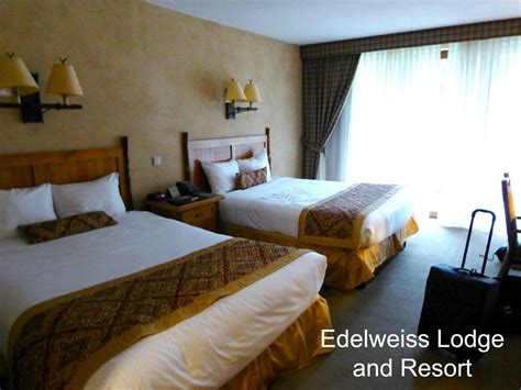 when we get in this room edelweiss lodge and resort travels