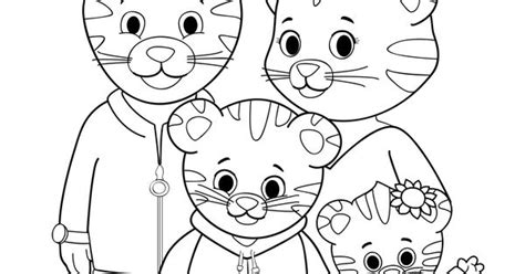coloring daniel tiger s neighborhood pbs kids amelia