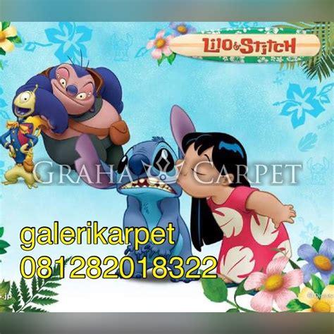 Karpet Karakter Lilo Stitch jual grosir karpet karakter karpet lilo stitch 4 graha