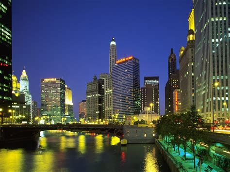 chicago il buildings city downtown chicago illinois picture nr