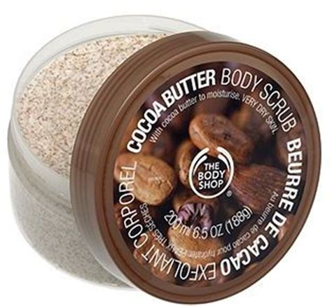 Ablutions Spa Butter by The Shop Cocoa Butter Scrub 9 Best Scrubs