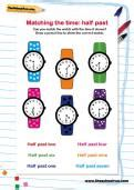 The Learning Journey Match It Time telling the time learning journey theschoolrun