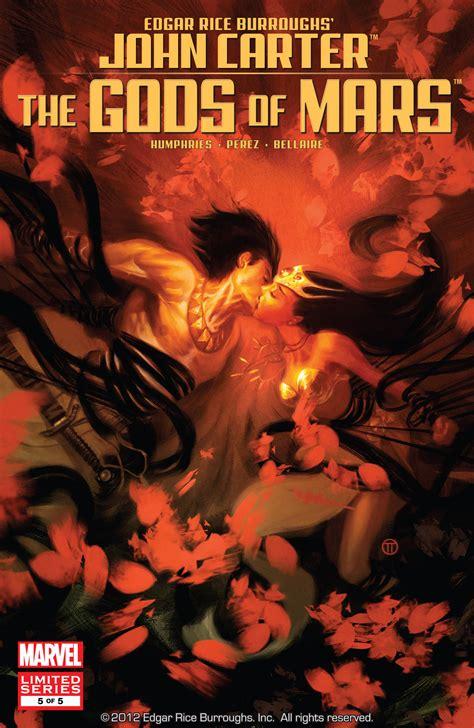 Gods Of Mars the gods of mars vol 1 5 marvel database