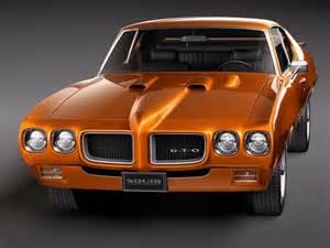 1970 Pontiac Models Pontiac Gto 1970 3d Model Max Obj 3ds Fbx Lwo Lw