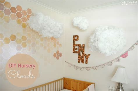 diy projects for nursery diy floating clouds decor hacks