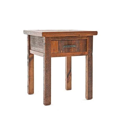 back to the bedroom back to the barn 1 drawer nightstand green gables