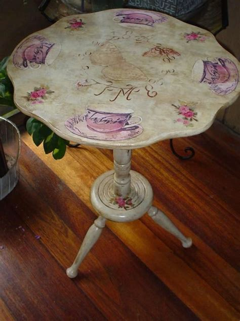 Decoupage On Wood Table - 301 best decoupage images on decorated boxes