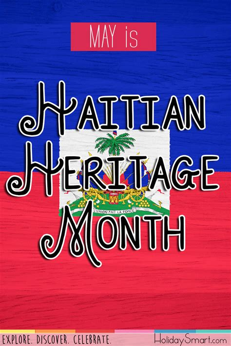haitian heritage month holiday smart