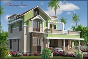 Kerala Home Design Elevation Architecture Kerala 4 Bhk Contemporary House Elevation