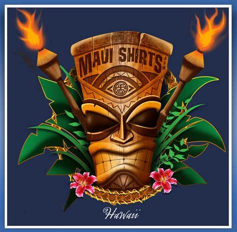 Isadore Premium Quality By Mauri mauishirts hawaii tiki god cotton shirt