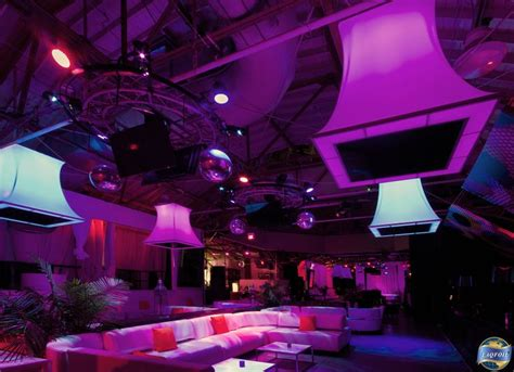 Nightclub Ceiling by Installation Of Led Lit 3d Stretch Ceiling Forms At Muzik