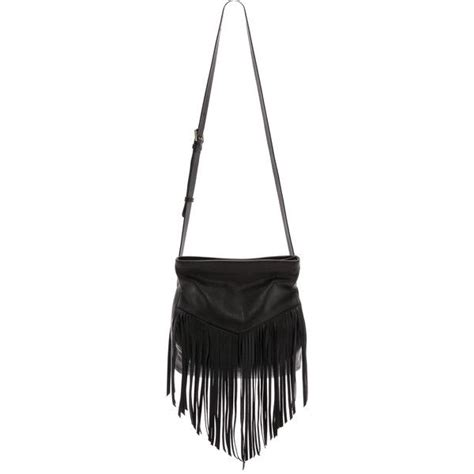 F L Hobo 585 A372 christopher kon fringe cross bag black found on