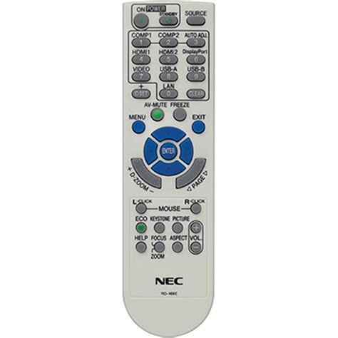 Remote Proyektor Nec Nec Rmt Pj36 Replacement Remote For Np Series Rmt Pj36