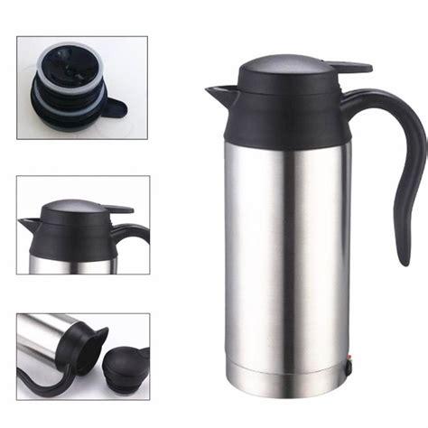 Car Mug Heated 750ml stainless steel 12v car heated travel mug thermos