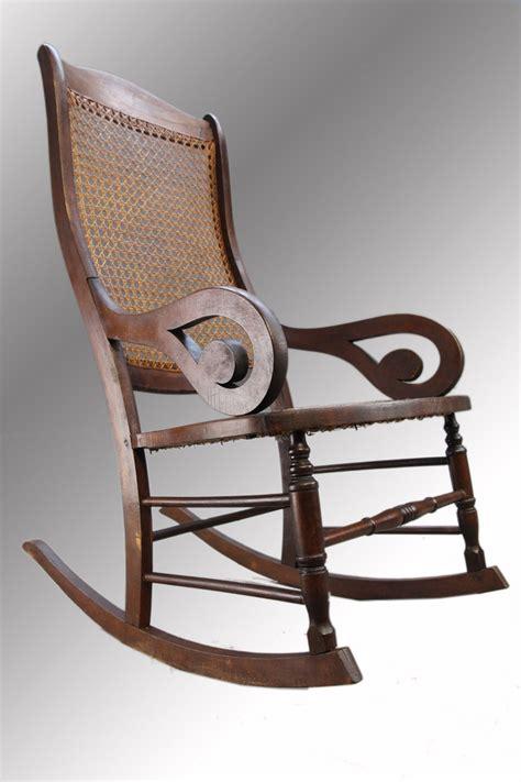 Gooseneck Rocking Chair by Antique Gooseneck Lincoln Rocker Rocking Chair On Bonanza
