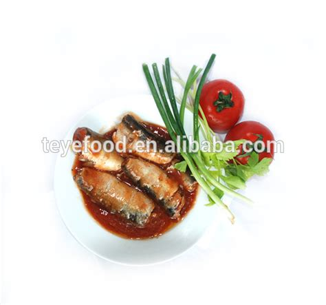 Nison Sardine In Tomato Sauce 155g canned sardine with tomato sauce products china 155g