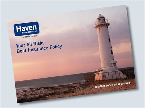 boat insurance haven haven knox johnston your all risks boat insurance policy