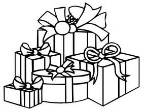 christmas present coloring pages printable
