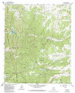 angus topographic map nm usgs topo 33105d6