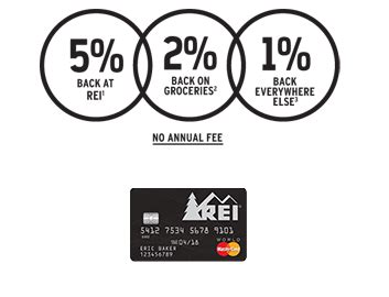 Rei Visa 100 Gift Card - rei mastercard review 100 gift card bonus 5 back doctor of credit