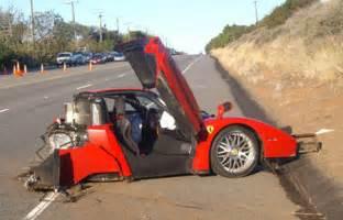 Enzo Crash 22 October 2009 Idriver