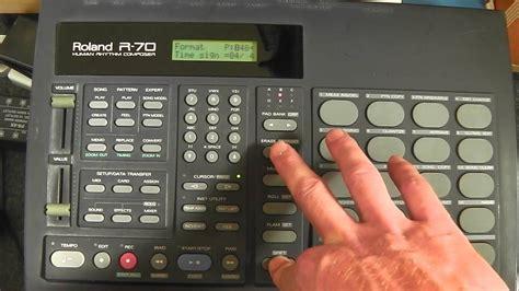 drum machine tutorial youtube roland r70 drum machine tutorial pt 1 youtube