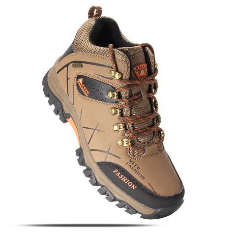 athletic hiking shoes mens big size trail hiking boots waterproof athletic non