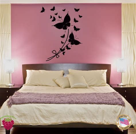 butterfly wall stickers for bedrooms wall sticker butterfly cool modern decor for bedroom z1413