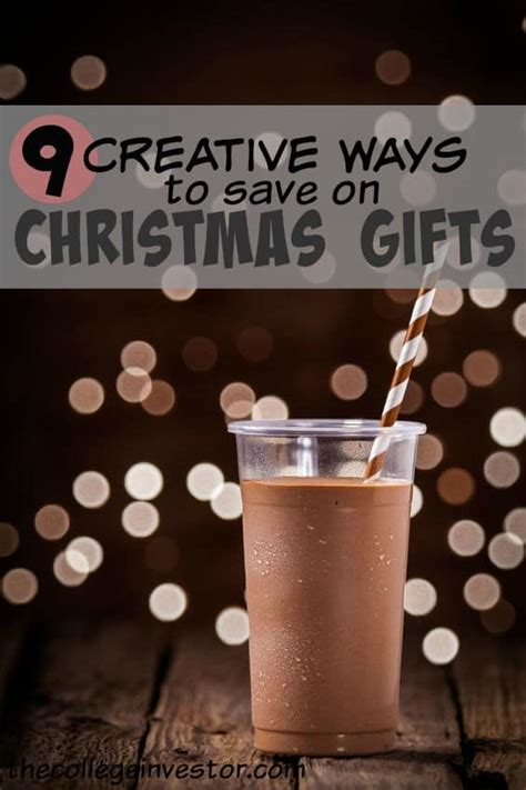 9 creative ways for students to save on christmas gifts