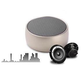 Mini Metal Bass Portable Bluetooth Speaker S302 Black metal mini portable bluetooth speaker bass bs 10 black jakartanotebook