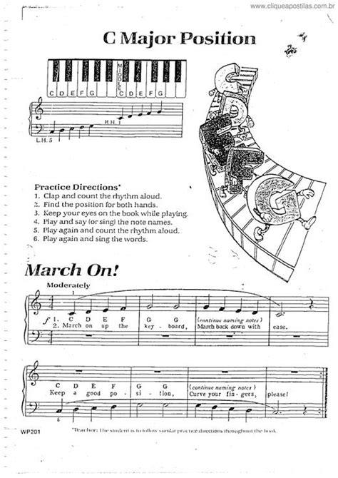 Clique Apostilas - Método de Piano Infantil