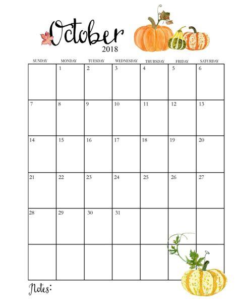 cute monthly calendar cute printable monthly calendar 2018