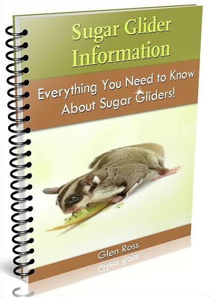 Sugar Glider Series sugar glider information by glen ross nook book ebook