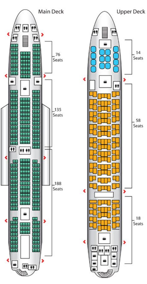 emirates airlines aircraft seating plans singapore airlines a380 airbus seating plan