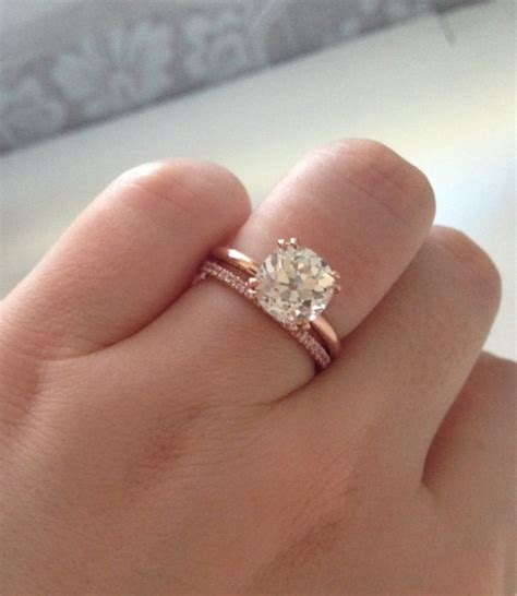 Showing Engagement Ring by Show Me Your Gold Solitaires