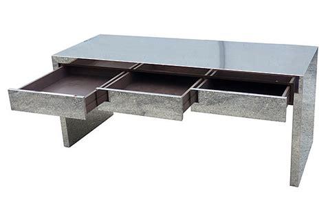 Sleek Modern Desk Sleek Mid Century Modern Chrome Desk Modernism