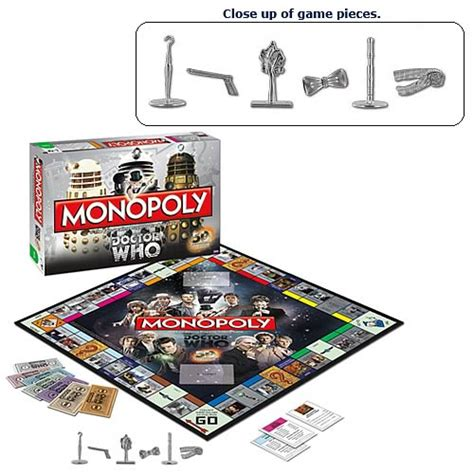 Promo Monopoly Attack On Titan Board doctor who collector s edition monopoly board usaopoly doctor who at