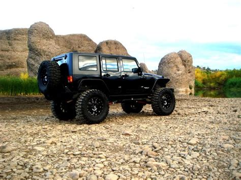 Black Lifted Jeep Wrangler Lifted Jeep Jk Pics Wallpaper Worthy Jkowners